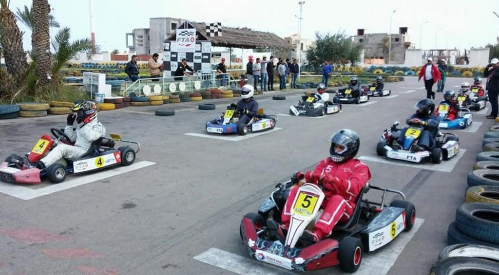 Go karting in Monastir