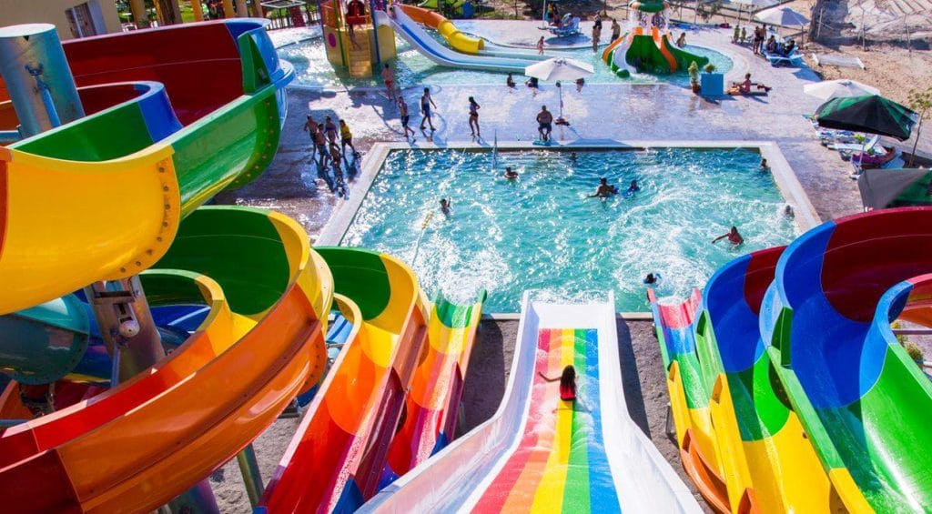 Faire un tour au Splash Park