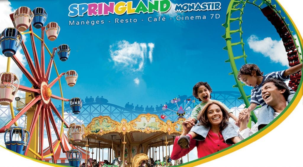 "Participate in the ""Spring Land"" funfair"