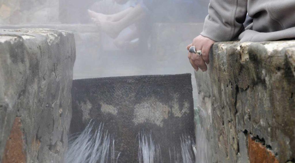 A la rencontre des eaux chaudes thermales de Korbous