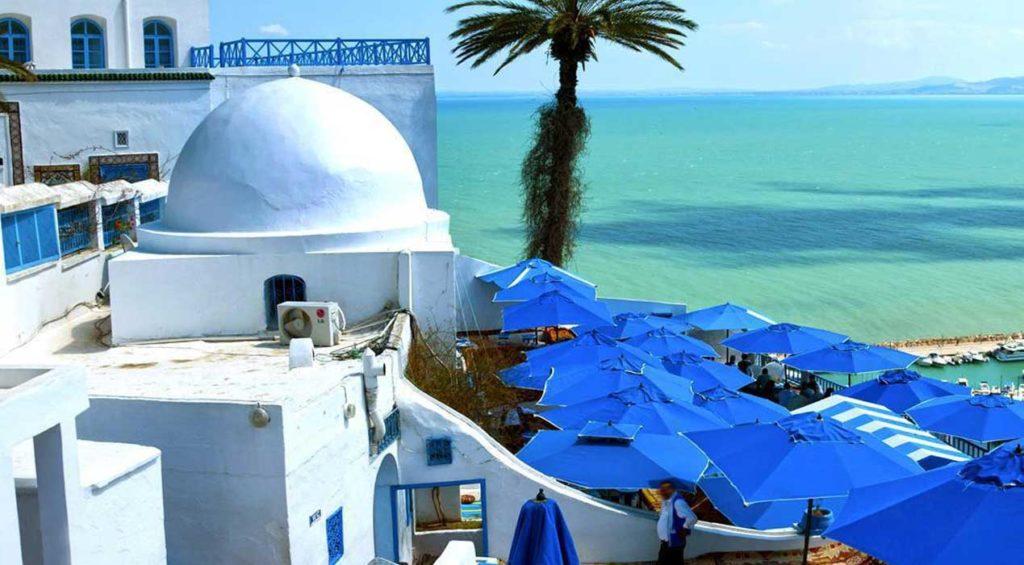 Contempler Sidi Bou Saïd, la ville bleue